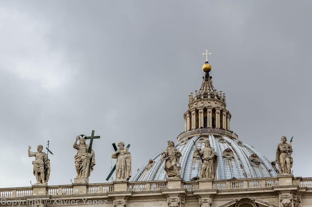 Papal Basilica of Saint Peter in the Vatican, cupola