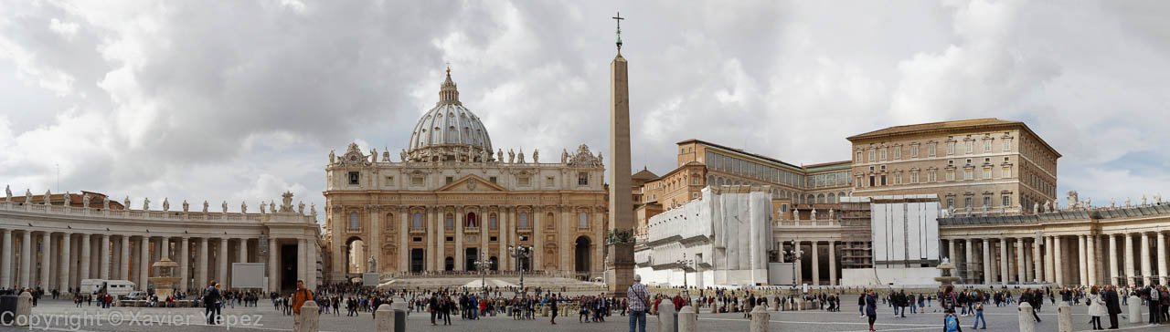 Saint Peter's Square, Vatican City, Conclave week