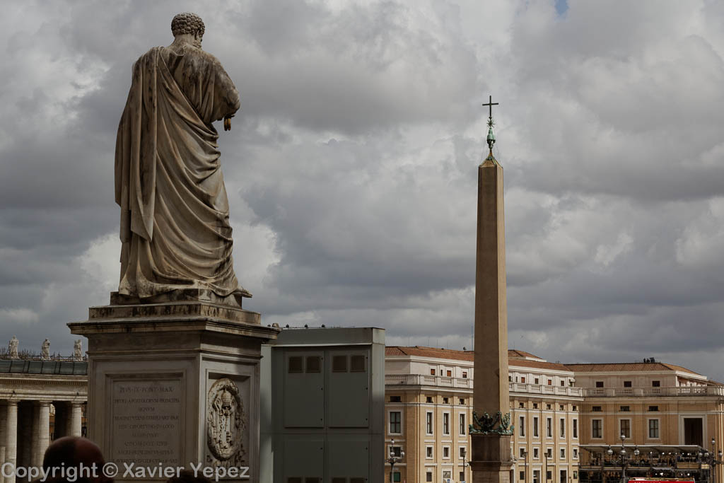 Saint Peter's Square - preparations for conclave