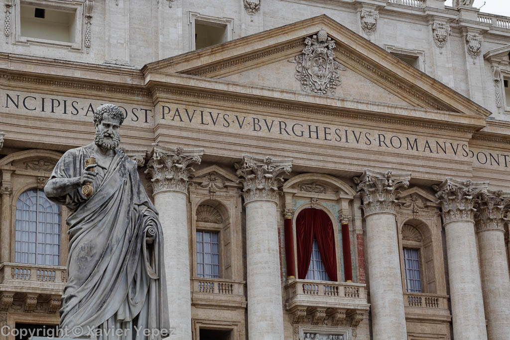 Saint Peter's Square - view to the Basilica, pre conclave