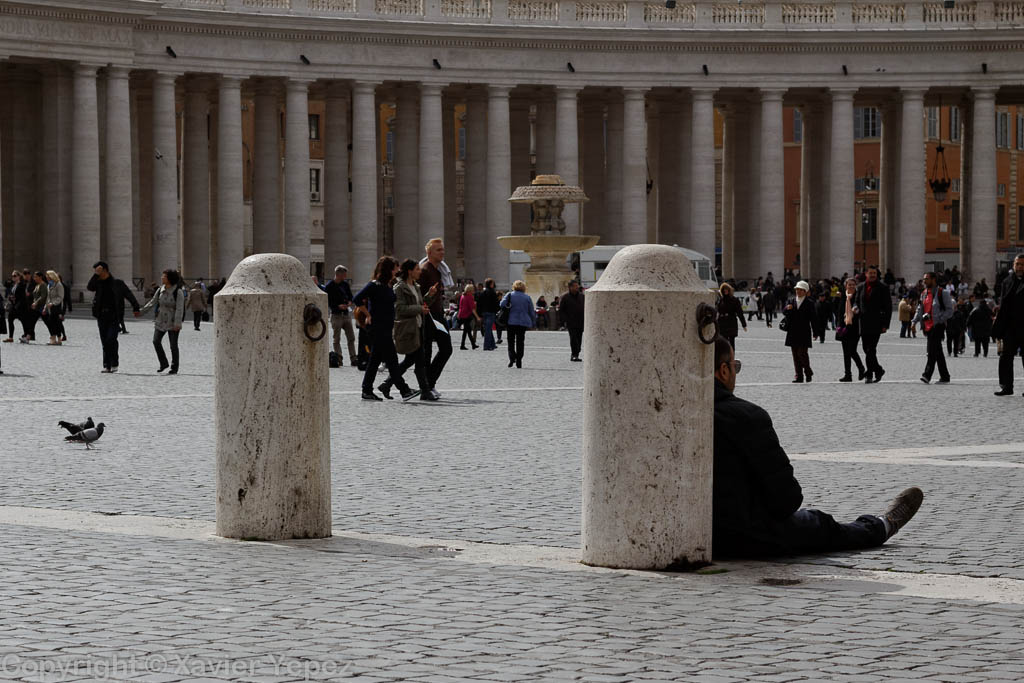 Saint Peter's Square - waiting for conclave