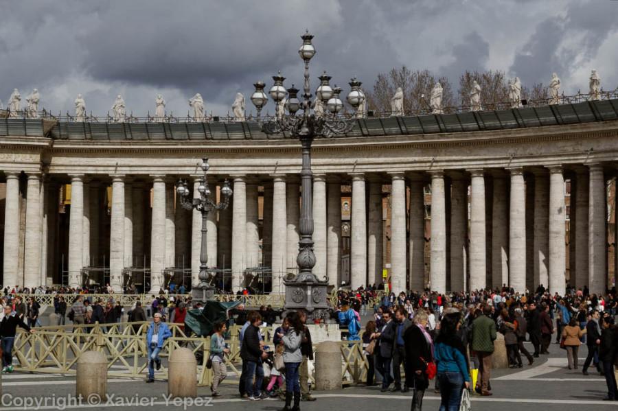 Vatican, Piazza San Pietro, pre conclave