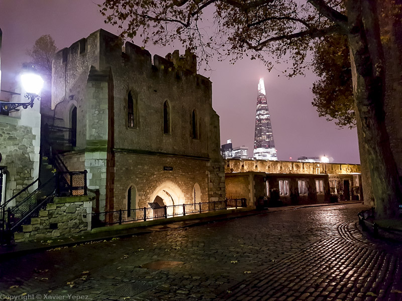 The Shard from the Tower of London