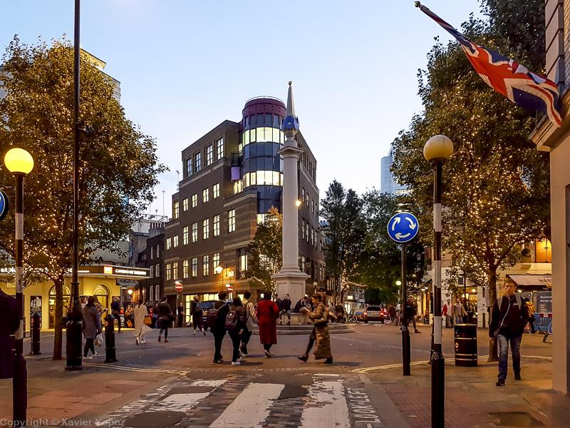 Seven Dials, London