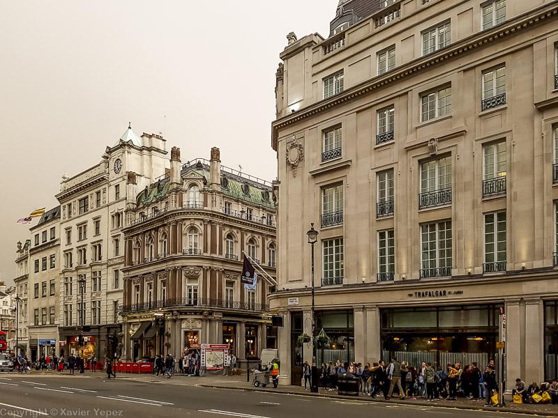 Trafalgar Square area, London